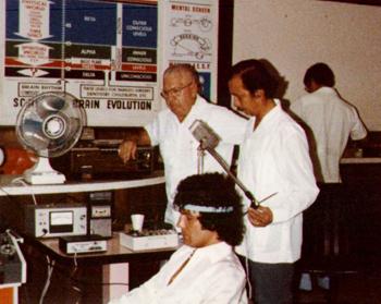 Хозе Сильва проводит исследования работы мозга