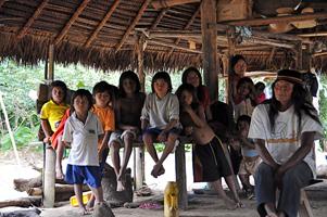 Дити ачуар из деревни Тинкиас